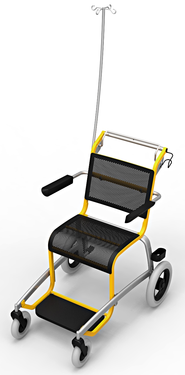 Transport wheelchair Caddy3